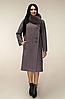 Пальто зимове з натуральним хутряним коміром, з 44 по 54 розмір
