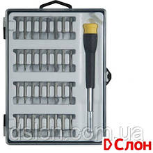 Набор бит STANLEY STHT0-626, Phillips, Pozidriv, Torx, Slotted, Sl1, Ph00, Pz0, Т5, ТТ10, L= 25 мм, 33 шт, кор