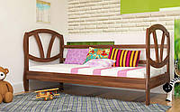 Деревянная кровать Виктория 80х190 см. ЧДК
