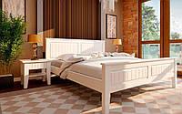 Деревянная кровать Глория (низкое изножье) 90х190 см. ЧДК
