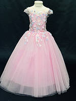 Нарядное бальное детское платье Ария на 4-5 лет