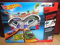 Трек Хот Вилс Безумные гонки Hot Wheels Super Speed Race  CDL49, фото 1