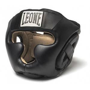 Боксерский шлем Leone Junior Black