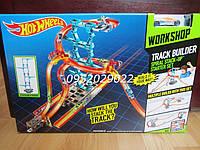 Трек Хот Вилс Спиральный спуск Hot Wheels Track Builder Spiral Stack-Up Track Set, фото 1