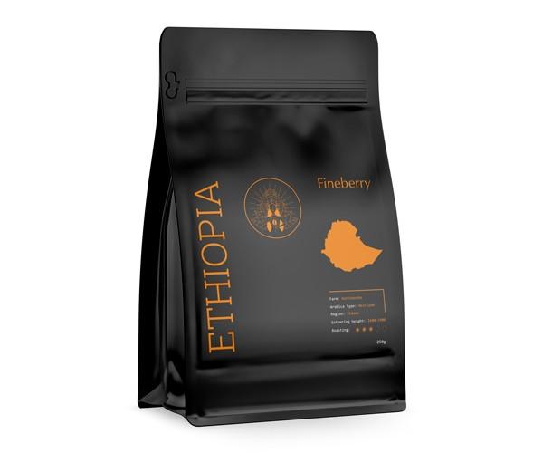 Кава Fineberry Ethiopia в зернах 250 г