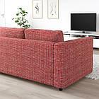 3-местный диван IKEA VIMLE Dalstorp разноцветный 692.987.72, фото 4