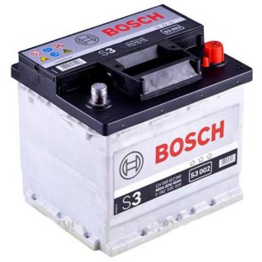 Аккумулятор Bosch S3 6СТ-45 Евро