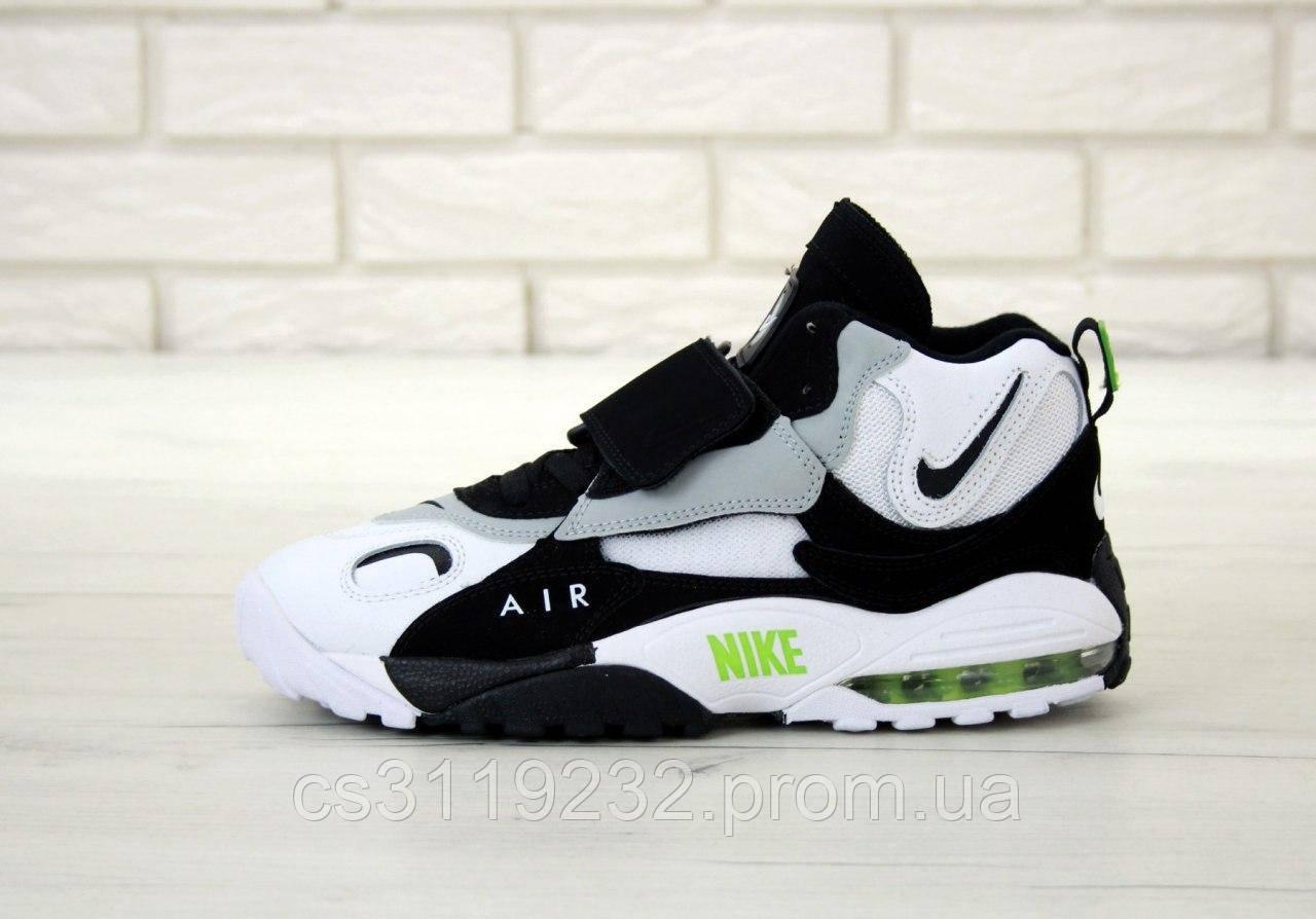 Мужские кроссовки Nike Air Max Speed Turf (черно-белые)