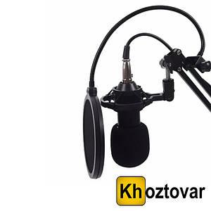 Студийный микрофон со стойкой и ветрозащитой Music D.J. M800U