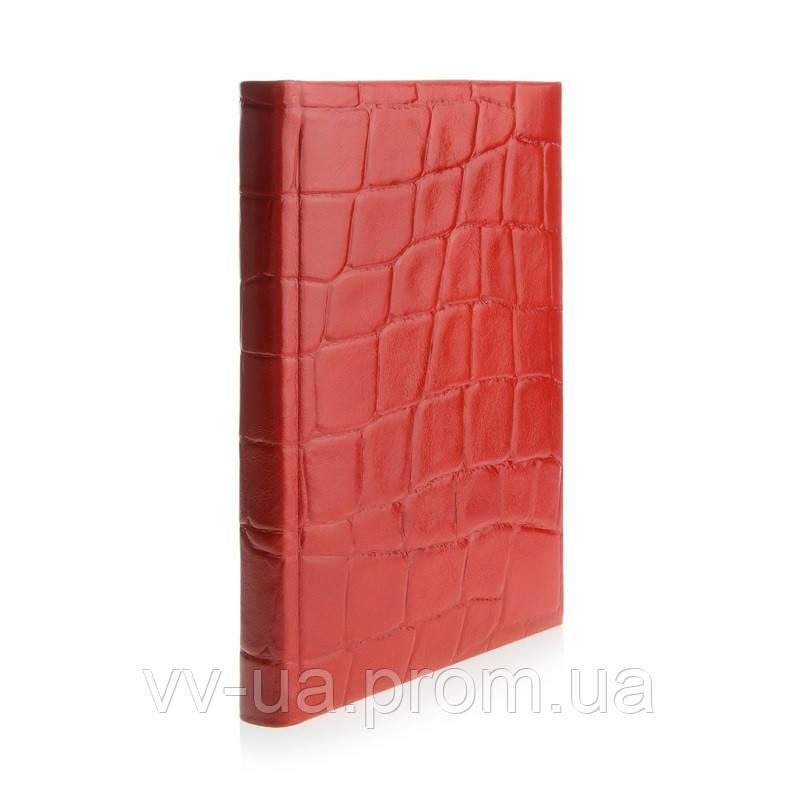 Ежедневник VIF 2020 Crocco, A5, красный з11027-06Е-60