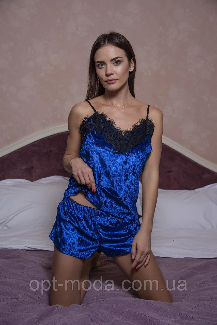 """Стильная женская велюровая пижама """"Oxnard"""""""