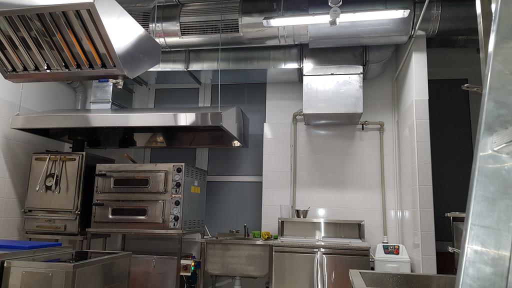 Вентиляция и кондиционирование в ресторане