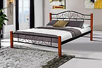 Кровать Релакс Вуд 160-200 см (черный)
