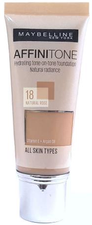 Тональный крем Maybelline Affinitone №18 Натурально-розовый (30мл.)