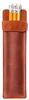 Пенал для карандашей, коричневый, CHARIZMA