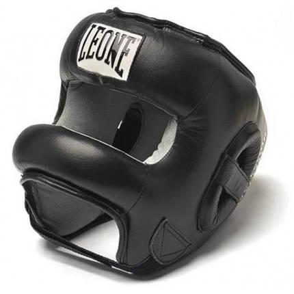 Боксерский шлем с бампером Leone Protection, фото 2