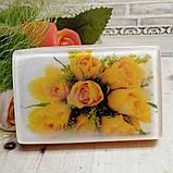 """Глицериновое мыло """"Желтые розы"""", фото 2"""