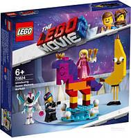 Конструктор серії LEGO Movie 2 Познакомьтесь с королевой Многоликой Прекрасной