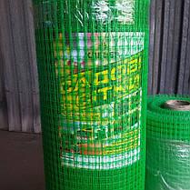 Сетка пластиковая для птиц  1,5*100 м (12*14мм), фото 2
