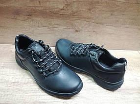 Мужские демисизонные кроссовки зимние МИДА 111155 из натуральной кожи, фото 3