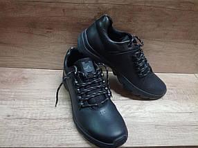 Мужские демисизонные кроссовки зимние МИДА 111155 из натуральной кожи, фото 2