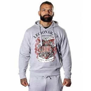 Толстовка Leone Legionarivs Fleece Grey