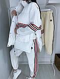 Костюм женский с жилеткой тёплый 42-44 46-48, фото 4