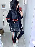 Костюм женский с жилеткой тёплый 42-44 46-48, фото 3