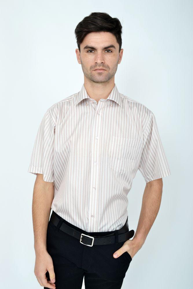 Рубашка Zeg 818-92 цвет Коричневый