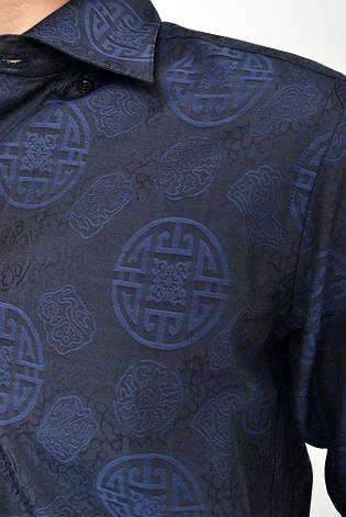 Рубашка sw10-6 цвет Темно-синий, фото 2