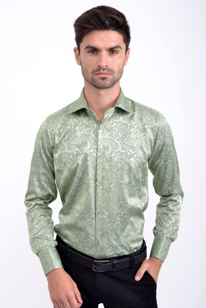 Рубашка SW-8 цвет Зеленый