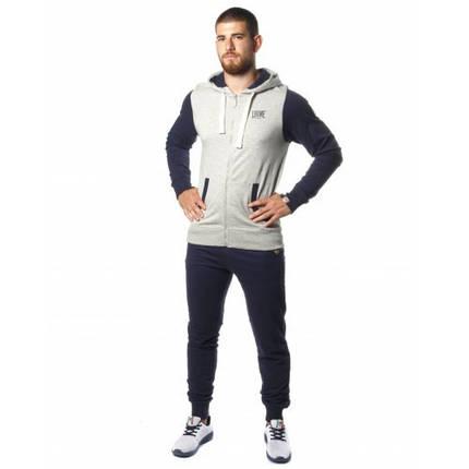 Спортивный костюм Leone Fleece Grey/Blue, фото 2