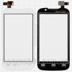 Touchscreen (сенсорный экран) для Prestigio MultiPhone 3400 Duo, оригинальный (белый)