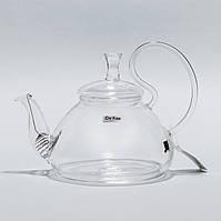 """Стеклянный заварник для чая """"Идеальный незнакомец"""" Chikao 800 мл"""