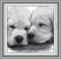 Набор для вышивания Идейка Собачья верность (ide_D182) 35 х 35 см