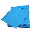 Скринька для зберігання іграшок, 25*25*30 см, (спанбонд), з відворотом синій, фото 3