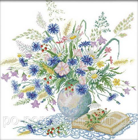 Набор для вышивания Идейка Романтичный букет (ide_H303) 55×55 см