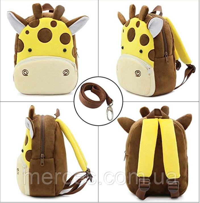"""Рюкзак для улюблених малюків """"Жирафик"""" Код К2"""