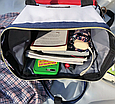 Красная сумка рюкзак женский ранец ЕКО водонепроницаемая ткань Оксфорд  сумка рюкзак шопер 157Вk, фото 6