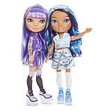 Набір Poopsie Rainbow girls Фіолетова або блакитна леді сюрприз, фото 4