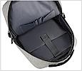 Рюкзак міський сірий з USB легкий Minimalist Urban 365, фото 6