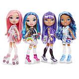 Набір Poopsie Rainbow girls Фіолетова або блакитна леді сюрприз, фото 6