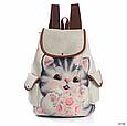 Стильний рюкзак Кошеня, фото 4
