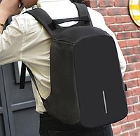 Лучший аналог Бобби. Черный Городской рюкзак реплика Bobby антивор с USB 162В 100% качество.