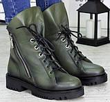 Ботинки женские молодежные из натуральной кожи от производителя модель СЛ6720, фото 2