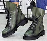 Ботинки женские молодежные из натуральной кожи от производителя модель СЛ6720, фото 4