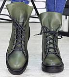 Ботинки женские молодежные из натуральной кожи от производителя модель СЛ6720, фото 5