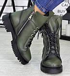 Ботинки женские молодежные из натуральной кожи от производителя модель СЛ6720, фото 3