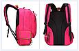Оригінальний шкільний рюкзак і ранець рожевий маленький 367R, фото 6
