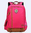 Оригінальний шкільний рюкзак і ранець рожевий маленький 367R, фото 7